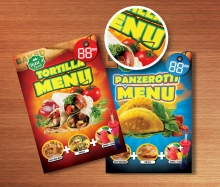 Rau's Food Fast Food flyer