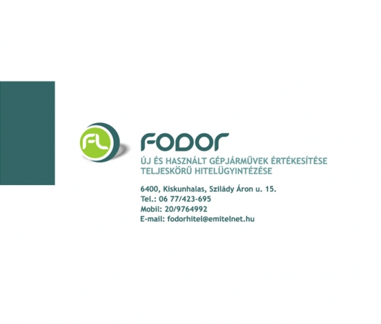 Fodor Hitel logo