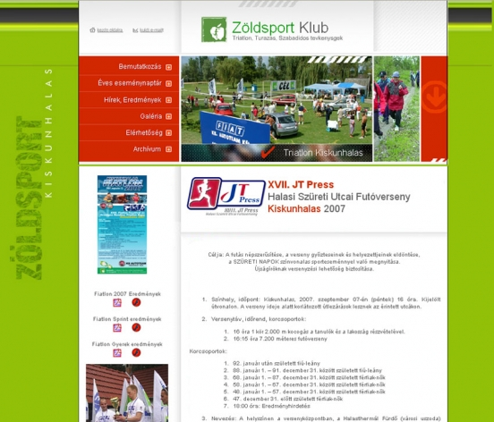 Zöldsport Club