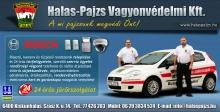 Halas-Pajzs brand plakát