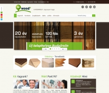 MI WOOD Kft. weblap