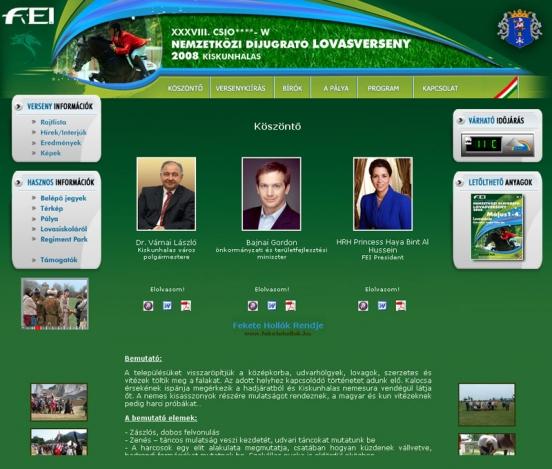 Világkupa 2008 weblap