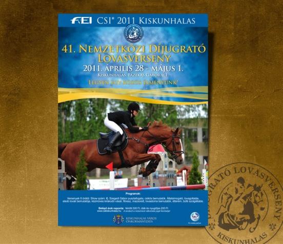 Díjugrato 2011 plakát