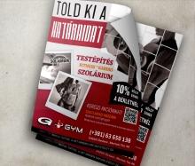 G-Gym flyer