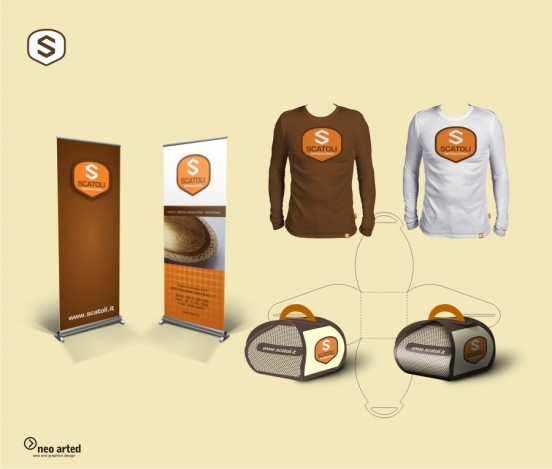 Scatoli International branding