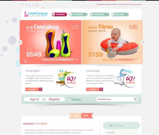babybottle.eu webshop