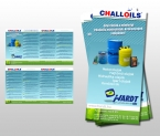 Challoils szórólap