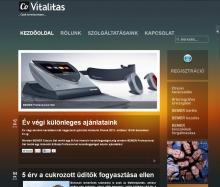 Redesign honlap a CoVitalitas-nak