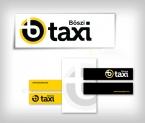 Böszi Taxi logo redesign