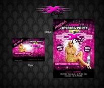 Tripla x Cafe flyer és plakát