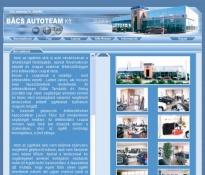 Bács Autoteam Kft. web