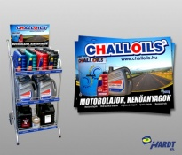 Challoils kinálópult