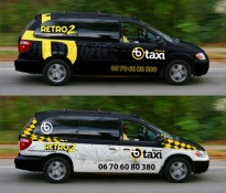 Böszi Taxi cardesign