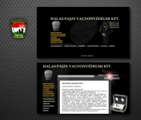 Halas-Pajzs weblap 2001